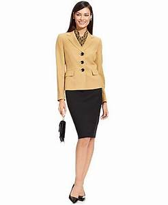 Pantsuit Or Skirt Suit For Interview Womens Suit Separates Suit La