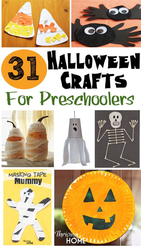 31 easy crafts for preschoolers thriving home 786 | 31 crafts for preschoolers