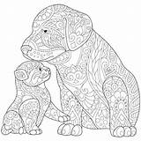 Coloring Pages Doberman Husky Dog Dogs Adults Realistic Cat Getcolorings Printable Getdrawings Colorings sketch template