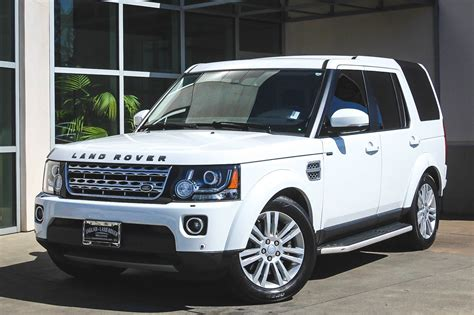 certified pre owned  land rover lr hse lux sport