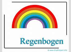 Regenbogen Clipart free Wetter Bilder kostenlos