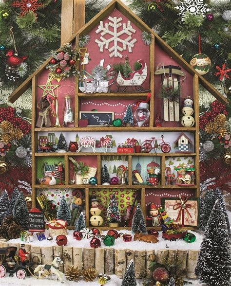 christmas country home  piece jigsaw puzzle