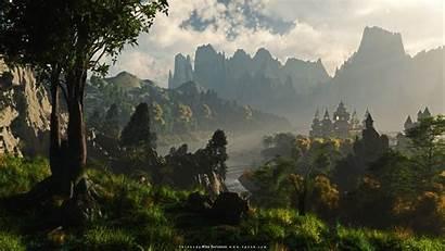 Landscape Fantasy Wallpapers Background 1920
