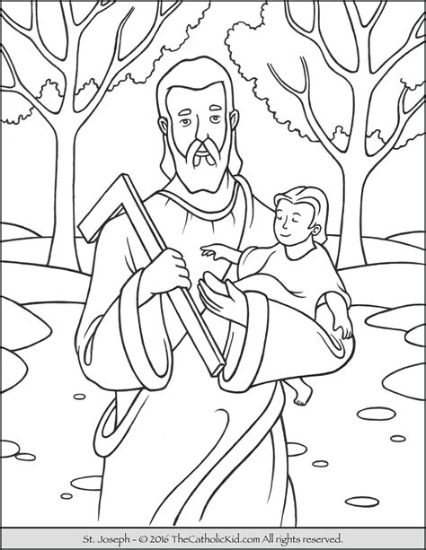 stephen the martyr coloring pages