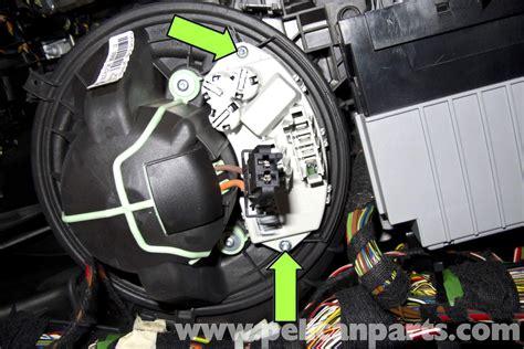 bmw  blower motor replacement    pelican