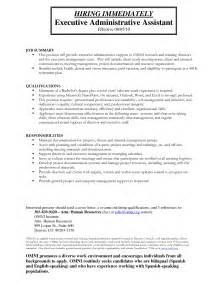 administrative assistant tasks for resume doc 692876 exle resume administrative assistant objective resume work bizdoska