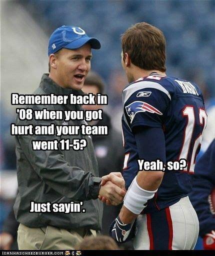 Tom Brady Peyton Manning Meme - lolnfl 2011 week 13 peyton manning tom brady and toms
