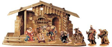 nativity set 10 pcs incl stable nativity sets