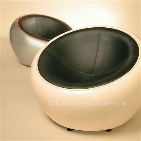 retro design egg chair white green shell bowl