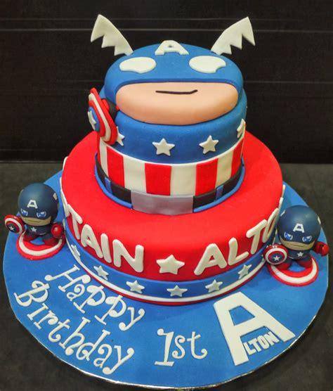 captain america cakes decoration ideas  birthday