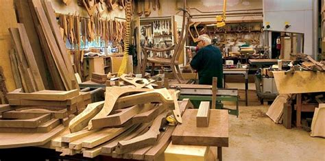 late  great woodworker sam maloofs studio