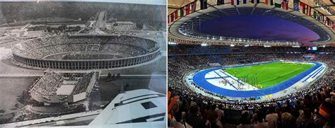 siege stade olympique olympic venues then vs now indie88