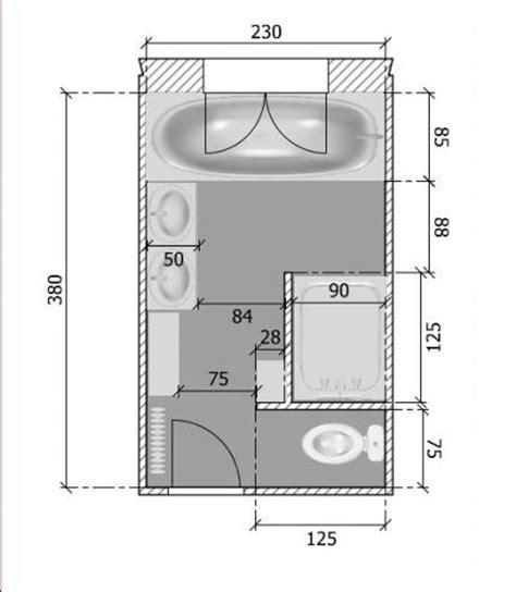 plan cuisine en longueur plan de salle de bain en longueur comment agencer une