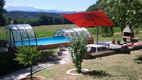 garten pool selber bauen pool im garten selber bauen anleitung poolbau pool