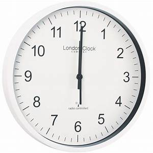 Radio, Controlled, White, Office, Wall, Clock, 30, 5cm