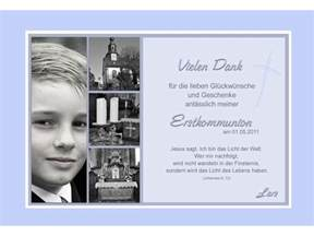 danksagung kommunion sprüche danksagung kommunion konfirmation danksagungskarte fotokarte hellblau