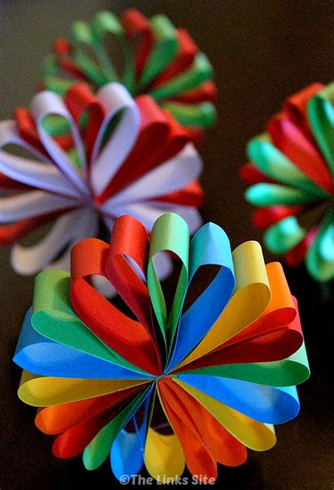beautiful paper christmas decorations the links site