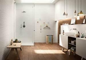 tendances salle de bain 2018 habitatpresto With salle de bain design avec cheminée de décoration