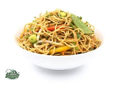salade froide de nouilles asiatiques aux legumes la
