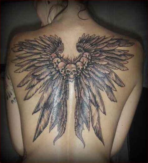 valkyrie wings tattoo design   tattoomagz