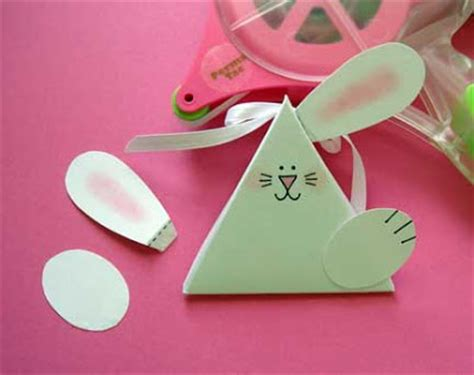 triangle template for kid craft gift for easter triangle treat template tutorial kids
