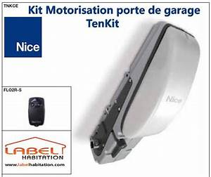 motorisation porte de garage nice tenkit tnkce 24v With motorisation porte de garage nice