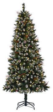 reviews home accent welsley spruce christmas tree home accents 7 5 ft pre lit wesley spruce artificial tree with clear lights