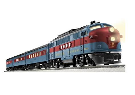 lionel  anniversary polar express streamliner  scale