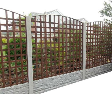 6x6 Trellis Panels by Wooden Fencing Panels From Harker Garden Buildings