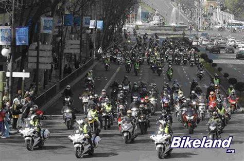 Team In Huge Madrid Motorcycle