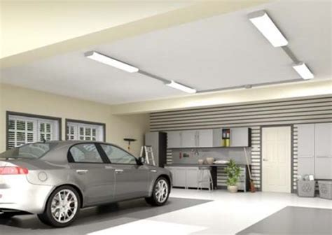 best led lights for garage workshop choosing the right type of garage lighting elliott spour