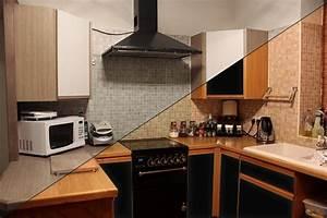 Küche Mit Folie Bekleben : m belfolie versch nere deine m bel ~ Michelbontemps.com Haus und Dekorationen