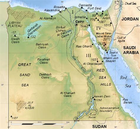 karten zu aegypten landkarte auf urlauberinfoscom