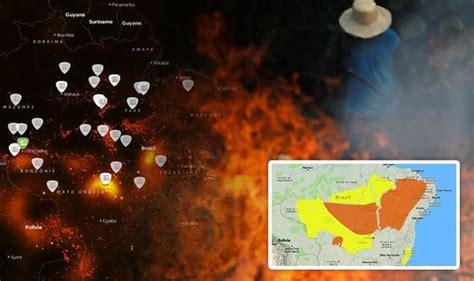 amazon rainforest fire  updates state  emergency