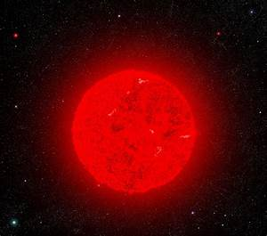 Red Supergiant Star Compared To The Sun - Pics about space