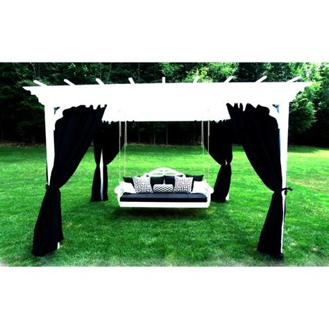 curtains for 6 x8 pergola 8 panels with hangers