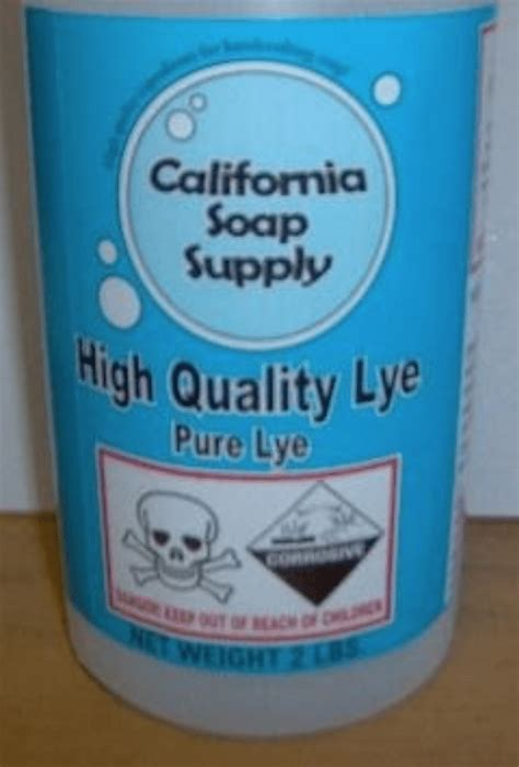 Boyer Recalls Soap-Making Chemicals After Child Suffers ...