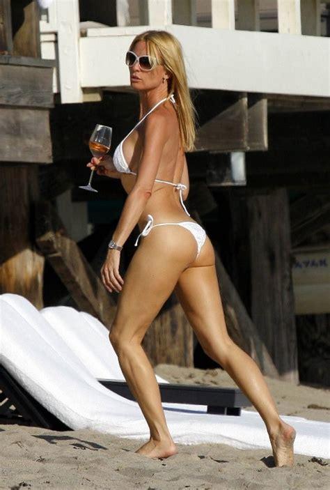 nicolette scorsese swimsuit nicollette sheridan reveals her bikini body general