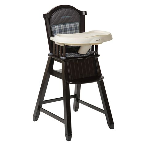 Light Wood Eddie Bauer High Chair by Eddie Bauer Eddie Bauer 174 Wood High Chair Ridgewood