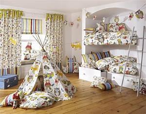 Kinderzimmer Die Gardine