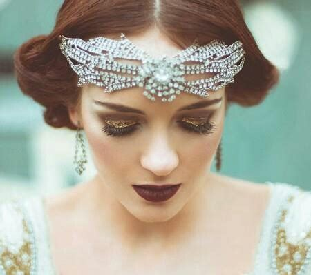 20s Inspired Hairstyles by Wedding Wednesday 1920s Inspiration