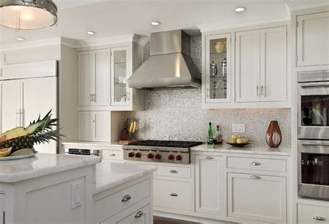 beautiful  refreshing kitchen backsplash  white