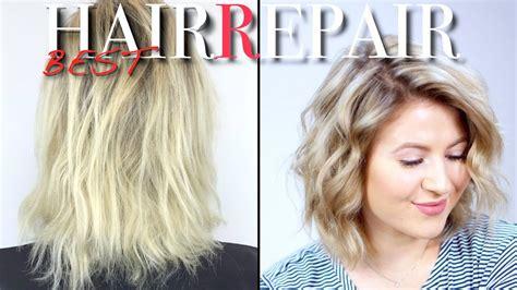 how to repair dry damaged hair milabu youtube