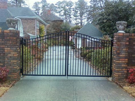 residential fences and gates atlanta driveway gates and entries
