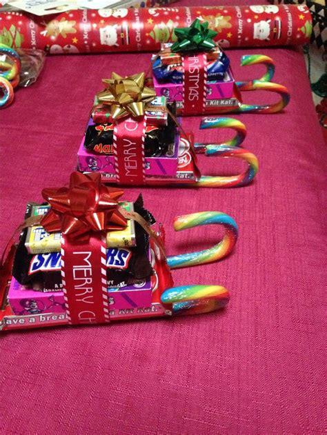 christmas lolly sleigh diy crafts