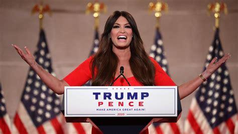 guilfoyle kimberly speech convention republican rnc night trump america speaks girlfriend decibel national why misses hits address memes talking jr