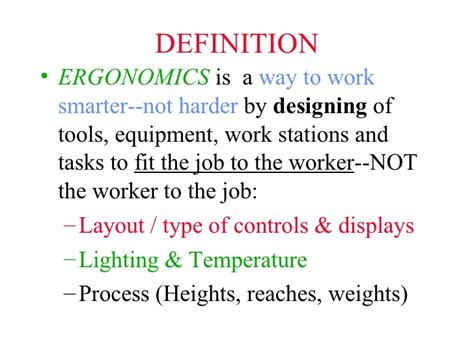 what is the meaning of ergonomics driverlayer search engine