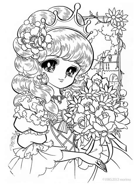 images  coloring pages manga anime