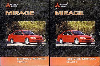best auto repair manual 2002 mitsubishi mirage on board diagnostic system 2000 mitsubishi mirage repair shop manual set original