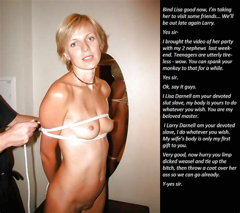 Slave And Slut Captions 18 Pics